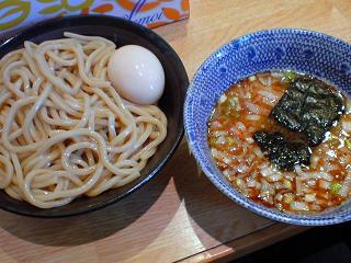 仁鍛 つけめん+味玉1.JPG