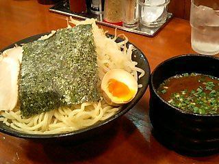 特製豚骨麺 黄昏 特製黄昏つけ麺大盛 1.JPG
