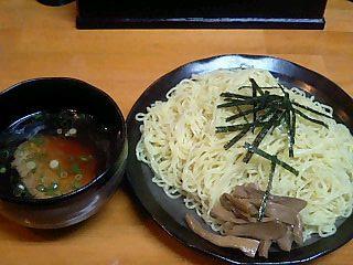 夢中 つけ麺醤油/大盛.JPG