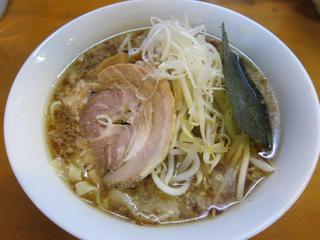 麺の蔵 醤油ラーメン太麺ふつう1.JPG