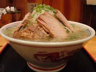 麺や道楽 豚そば2.JPG