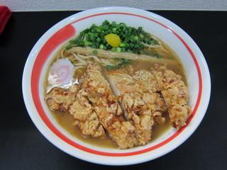 自家製麺SHIN 揚チキンめん.JPG
