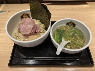 真鯛らーめん麺魚/錦糸町パルコ店 特製真鯛つけ麺