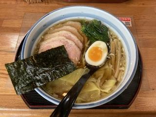 まる政 叉焼ワンタン麺