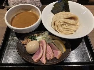 鴨出汁中華蕎麦 麺屋yoshiki 特製鴨白湯つけ麺