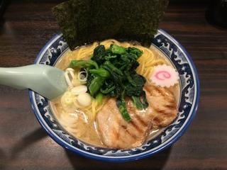 麺屋武士道 濃厚豚骨ラーメン醤油