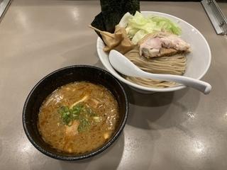つけ麺 五ノ神製作所 特製海老つけめん