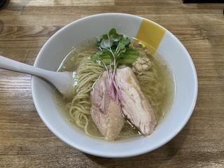 塩生姜らー麺専門店マニッシュ亀戸店 塩生姜らー麺