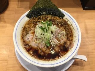 麺やマルショウ地下鉄新大阪店 醤油中華そば