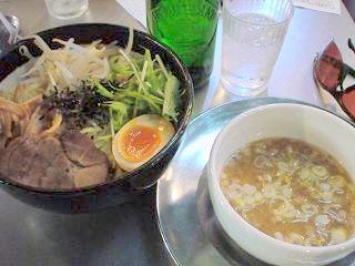 ZUND-BAR 冬の味噌つけ麺大盛り/ゆず味噌.JPG