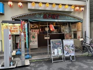 亀戸煮干中華蕎麦つきひ 亀戸横丁外観