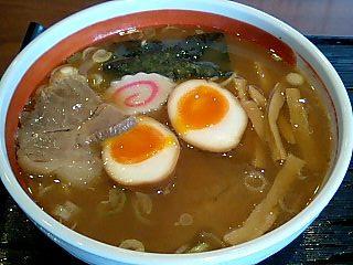 つけめん赤とんぼ ら〜めん+味玉1.JPG