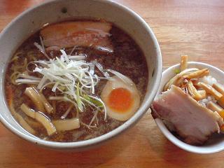 ふきのとう こくうま醤油らーめん+ふきのとう丼ミニ1.JPG