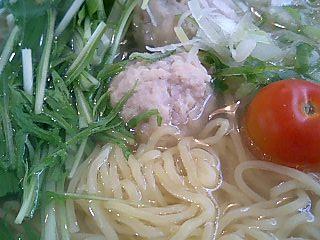 らーめんゑびな軒 高座豚の肉だんごラーメン2.JPG