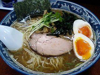 らーめん我流 味玉和風麺大盛.JPG