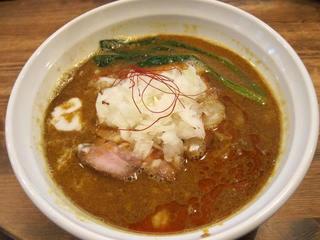 らーめんHANABI 黄坦々麺1.JPG