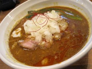 らーめんHANABI 黄坦々麺2.JPG