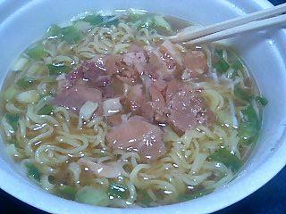 サッポロ一番 麺場 ねぎ豚醤油拉麺 2.JPG