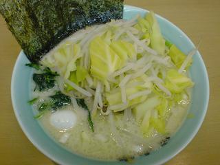 壱六家/大船2号店 塩ラーメン+もやキャベ1.JPG