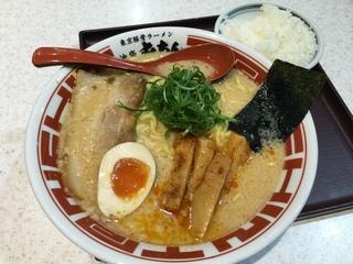 屯ちんSUNAMO店 東京豚骨ラーメン+ライス