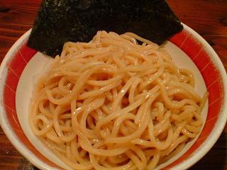 吉田製麺店 つけそば和風豚骨醤油中盛2.JPG