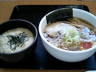境川PA下り 旨み醤油+ミニとろろ丼.JPG