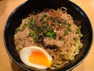 湘南麺屋海鳴 和風絡めそば/辛め1.JPG