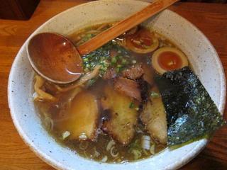 麺や八雲 Wチャーシュー麺.JPG