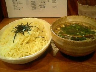 麺や八雲 つけ麺醤油 大盛1.JPG