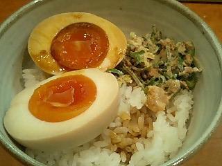 麺一真 ラーメンセットのご飯.JPG