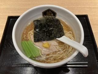 真鯛らーめん麺魚/錦糸町パルコ店 本鮪らーめん