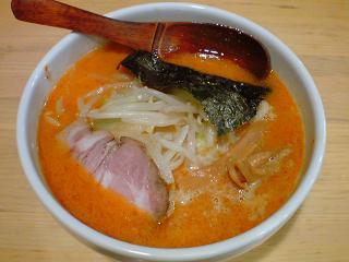 鈴木味噌ラーメン店 赤辛味噌ラーメン.JPG