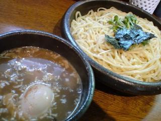 和風つけ麺/轍 味玉つけめん1.JPG