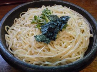 和風つけ麺/轍 味玉つけめん2.JPG