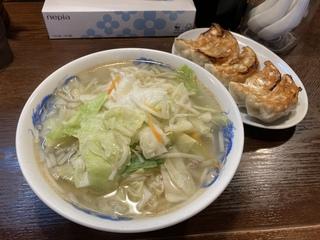 来々軒 タンメン餃子