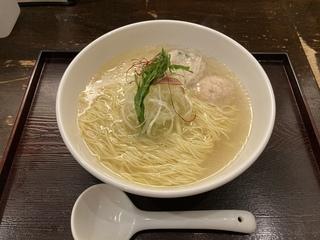 麺屋海神 新宿店 あら炊き塩らあめん