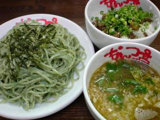 なんつッ亭 青海苔つけ麺+ぶたまんま.jpg