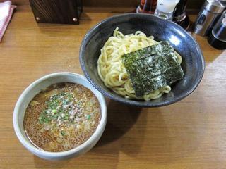 らーめん勇 つけ麺.JPG
