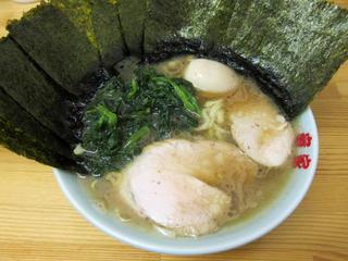 ラーメン竜家 ラーメン/のり+味玉.JPG