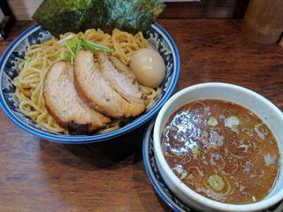 中華そば旋 特製つけ麺.JPG