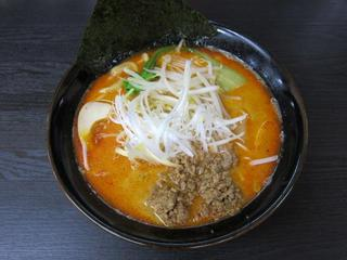 松壱家/平塚店 赤辛ラーメン並.JPG