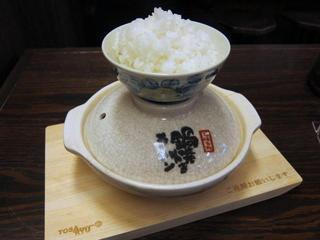 谷口食堂 鍋焼きラーメン+ごはん.JPG