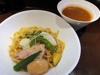 麺屋 波 WAVE カレ〜つけ麺.JPG