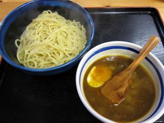 麺屋筑波 カレーつけ麺.JPG