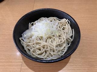麺屋真星@浦安 煮干し用替え玉(170円)