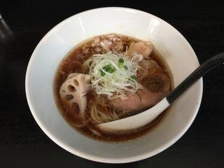 Noodle college Shirokuro 醤油Noodle
