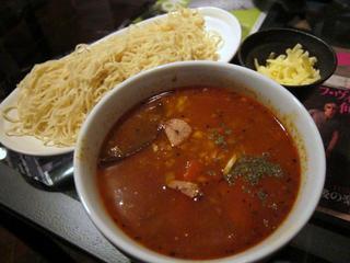 Jellyfish スパイシーカレーつけ麺.JPG